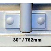 Window Security Bars - Face Fix - Telescopic Adaptabar 30 to 42 inches (762-1067mm)