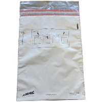 Single Trip Cash / Evidence Bags - Size B (269x360mm / 10.5x14inches) - pack of 20