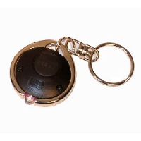 Battery operated keyfob UV lamp - red LEDs