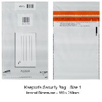 Keepsafe Security Bag Opaque Size 1 pack of 100