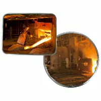 Stainless Steel Industrial Mirrors for Institutional or hot environ use