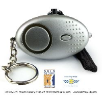 Sold Secure Personal Alarm with Torch (Keyring Model) - Police Preferred Specification