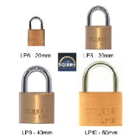 Squire Leopard Quality Brass Padlocks - Choice of sizes