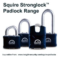 Squire Stronglock Padlocks - Choice of size and type
