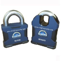 Squire SS100 CEN6 Padlock with twin R1 lock cylinders