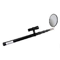 Telescopic Arm with Super Bright LED torch and 140mm diam. Acrylic Inspection Mirror (under vehicle search, etc)