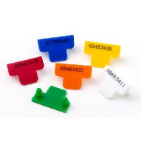 Security Zip Seals (pack of 500 numbered T Seals) - for use with reusable Cash Bags and Key Wallets