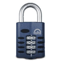 Squire CP50 50mm 4 Wheel Combination Padlock with 8mm shackle