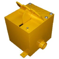 Traffic Flow Plates (Concrete In type) - restrictor flap height = 100mm