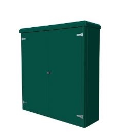 Handmade High Quality Double Door Electric Cabinets