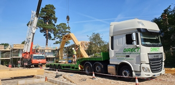 HIAB Transport Haulage Services In Cheshire