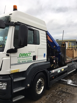 Pick And Pack Pallets Haulage Services With Tracking Service In Cheshire