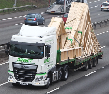 Pallets Haulage Services With Tracking Service In Kent