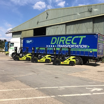 Collection And Delivery Over Night Pallet Services In Norfolk