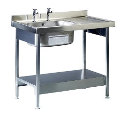 Stainless Steel Sinks for laboratories