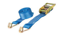 Ratchet Straps with Claw Hooks - 2 Tonne