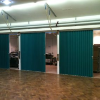 Concertina Folding Partitions For Care Homes