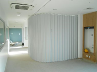 Concertina Folding Partitions For Colleges