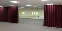 Concertina Folding Partitions For Meeting Rooms