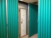 Concertina Folding Partitions For Changing Rooms