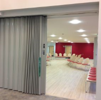 Concertina Folding Partitions For Tennis Centres