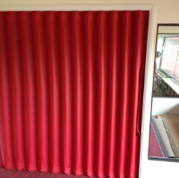 Concertina Folding Partitions For Golf Clubs