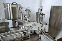 Mass Production Filling and Capping Machinery