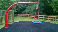 Children's Playground Cantilever Swings