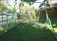 Children's Playground Arch Swings