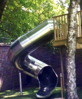 270 Degree Spiral Outdoor Slides