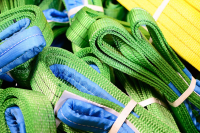 Tightly Woven Seamless Polyester Slings