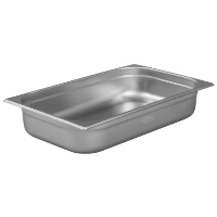 1/1 Gastronorm 100mm Deep stainless steel food containers and pan