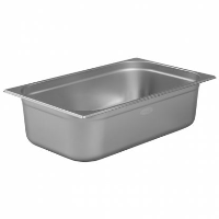1/1 Gastronorm 150mm Deep stainless steel food containers and pan