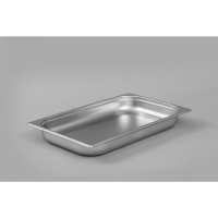 1/1 Gastronorm 65mm Deep stainless steel food containers and pan
