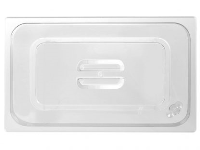 1/1 GN Lid Clear Polycarbonate Gastronorm Food Container