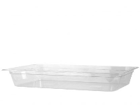 1/1 GN X 65mm Clear Polycarbonate Gastronorm Food Container