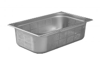 1/1 Perforated Gastronorm 150mm Deep stainless steel food pan