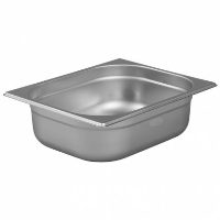 1/2 Gastronorm 100mm Deep stainless steel food containers and pan