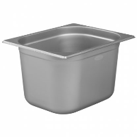 1/2 Gastronorm 200mm Deep stainless steel food containers and pan