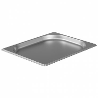 1/2 Gastronorm 20mm Deep stainless steel food containers and pan