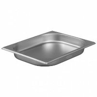 1/2 Gastronorm 40mm Deep stainless steel food containers and pan