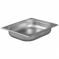 1/2 Gastronorm 65mm Deep stainless steel food containers and pan