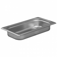 1/3 Gastronorm 40mm Deep stainless steel food containers and pan