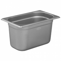 1/4 Gastronorm 150mm Deep stainless steel food containers and pan