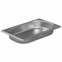1/4 Gastronorm 40mm Deep stainless steel food containers and pan