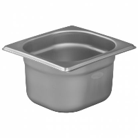 1/6 Gastronorm 100mm Deep stainless steel food containers and pan