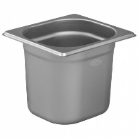 1/6 Gastronorm 150mm Deep stainless steel food containers and pan