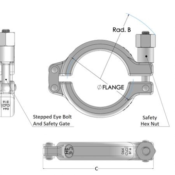 UK Manufacturer Of Safety Clamps