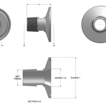 Supplier Of Threaded Adaptors