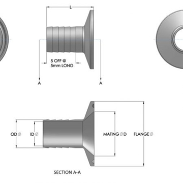 Ferrule To Hose-tail Fittings